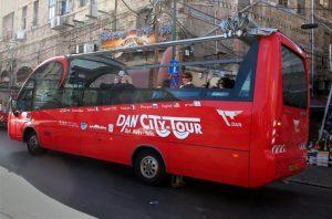 האוטובוס התיירותי הפתוח של תל אביב