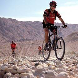 מסלול אופניים בלב מכתש רמון
